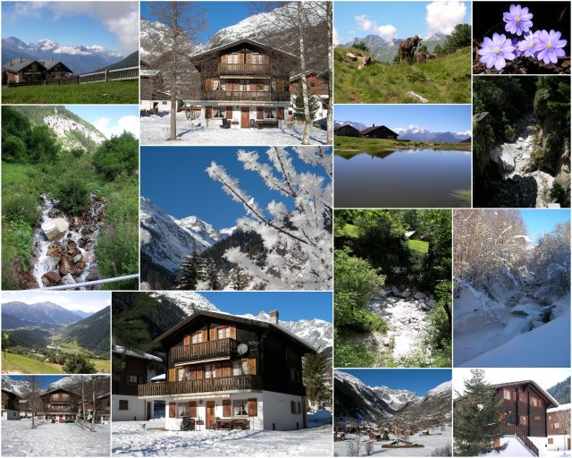 Collage Chalet Wisi