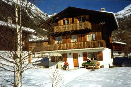 Chalet Wisi im Winter